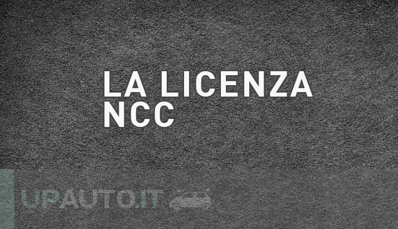 Licenza NCC Roma