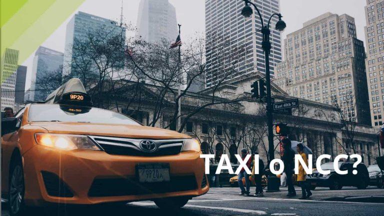 Taxi o NCC