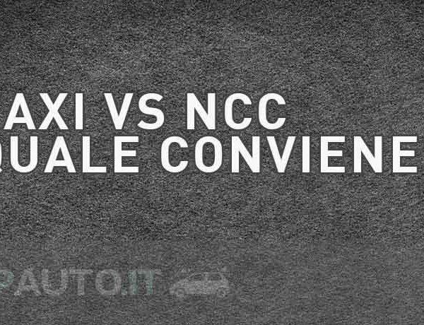 Taxi vs NCC, quale è meglio