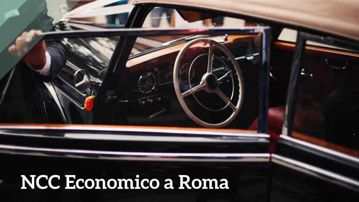 ncc economico a Roma
