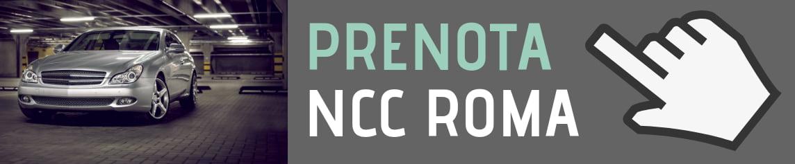 PRENOTA NCC ROMA