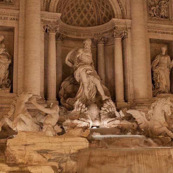 Fontana di Trevi, a Roma
