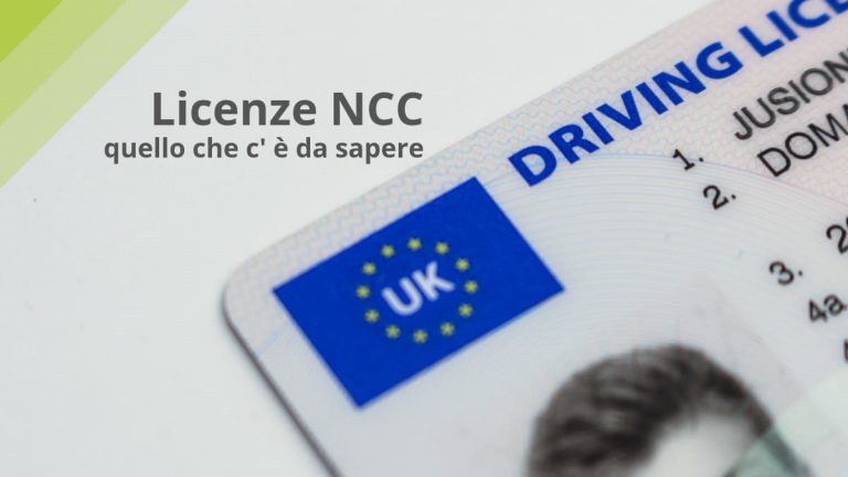 Licenza NCC a Roma
