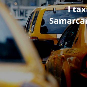 Il servizio Taxi di Samarcanda